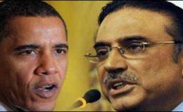 اوباما کا زرداری کوفون،بون کانفرنس میں شرکت پر زور