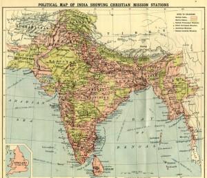 hindustan map 1940