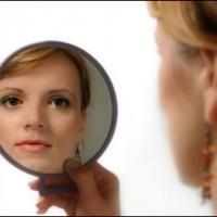 look into the mirror