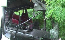 یوکرائن میں مسافر بس کو حادثہ، 14 افراد ہلاک،21 زخمی