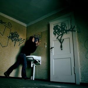 boy at door