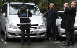 Hillary Clinton London parking