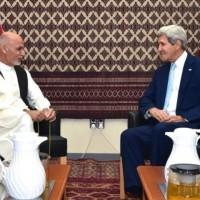 Ashraf Ghani, John Kerry