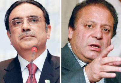 Nawaz Sharif ,asif Ali Zardari
