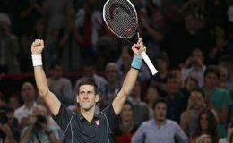 پیرس ماسٹرز ٹینس ٹورنامنٹ، نوواک جوکووچ سیمی فائنل میں پہنچ گئے