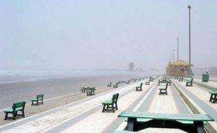 'سمندر کراچی کو نگل سکتا ہے'، ماہرین