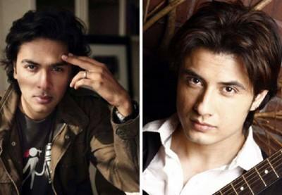 Ali Zafar And Shahzad Roy