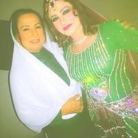 Bindia Hussain and Raheela Aghaa