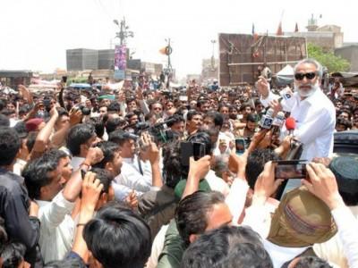 Dr Zulfiqar Mirza Rally