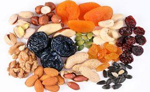 پھل اور فروٹ کی خصوصیات (خشک ميوے)