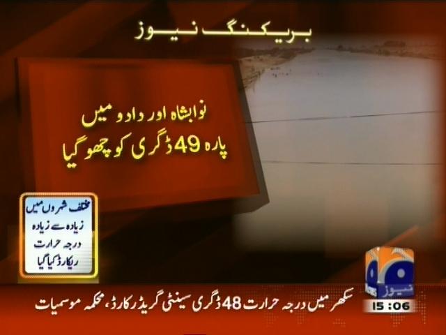 Heat in Sindh Punjab – Breaking News – Geo