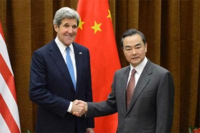 John Kerry And Wang