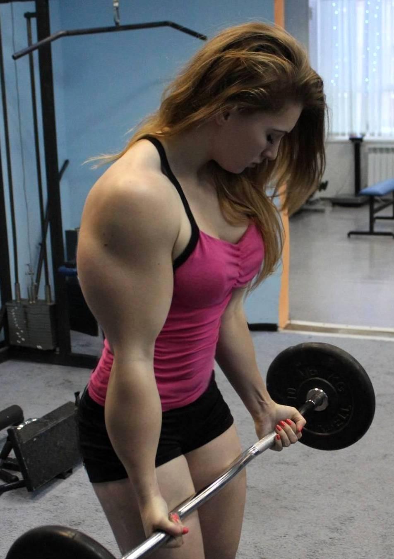 Julia Vins, Russian muscled barbie