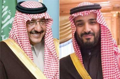 Mohammad bin Nayef and Mohammad Bin Salman