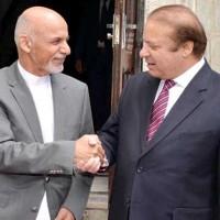 Nawaz Sharif and Ashraf Ghani
