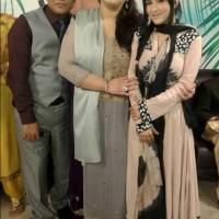 Neelam Afshaan with Shakeel Shahid