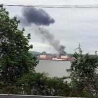 Nuclear Plant Transformer Fire