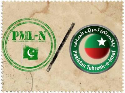 PML N and PTI
