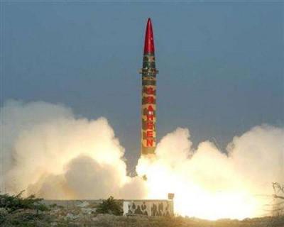 Pakistan Nuclear Missle-launch
