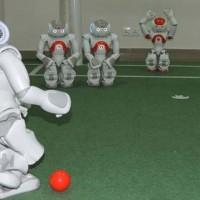 Robot Playing Football