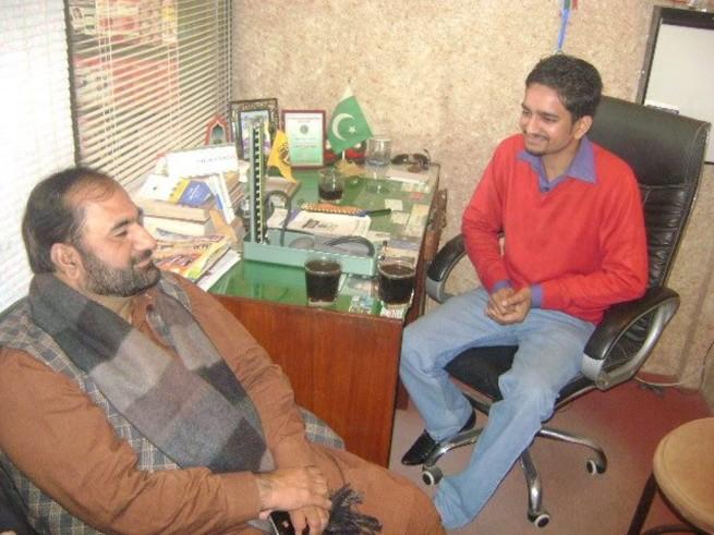 Tariq Saleem and Shaikh Sobaan Shahid