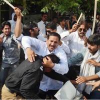 Lawyers Beat Police Men