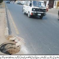 Abdullah Pur PTCL Manhole