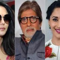 Amitabh, Madhuri and Preity Zinta