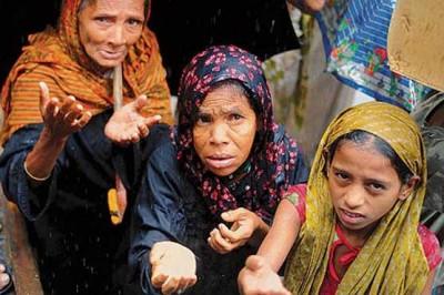 Beleaguered Rohingya Muslims