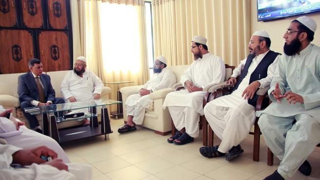 Dr Zafar Iqbal Chaired Meeting