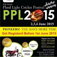 Flood Light Cricket Festival