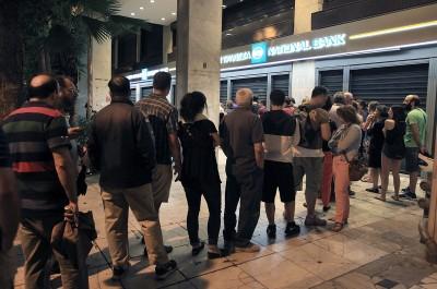 Greece Crisis Bank Closed
