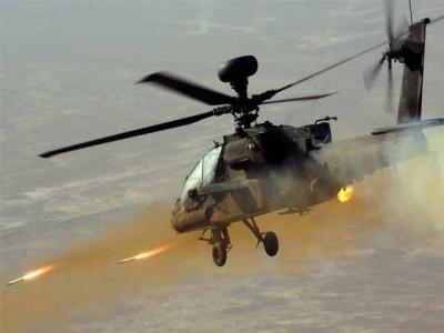 Gun Ship Helicopter