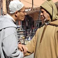 Hand Shaking Muslims