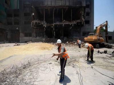 Hosni Mubarak Political Party Office Destroyed