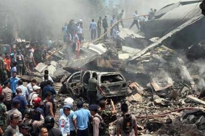 Indonesia Military Aircraft Crash