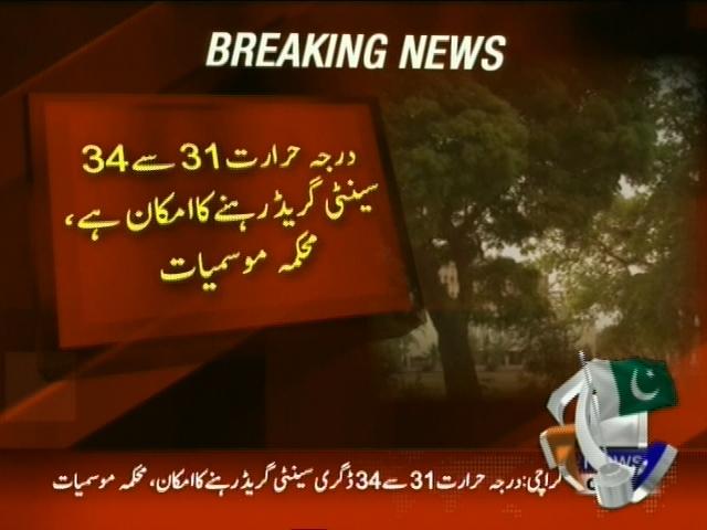 Karachi Weather– Breaking News – Geo