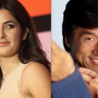 Katrina Kaif and Jackie Chan