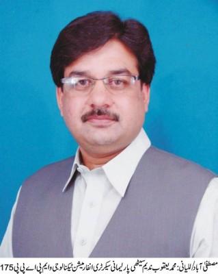 M Yaqoob Nadeem