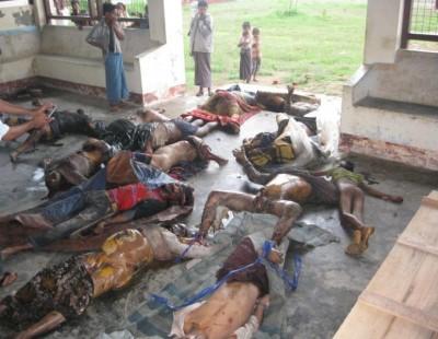 Mass Killing of Rohingya