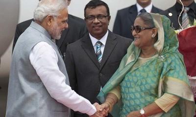 Narendra Modi And Hasina Wajid