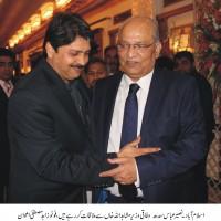 Naseer Abbas,Mushahid Ullah Khan,Meeting