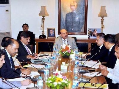 Qaim Ali Shah Meeting