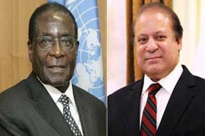 Robert Mugabe and Nawaz Sharif