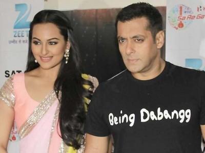 Sonakshi and Salman Khan