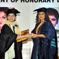 Vidya Balan Doctorate Degree