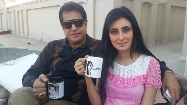 Yamin Malik with Zunera Maham