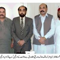 Asmat Anwer Mehsood Sadiqi Farooq Meating