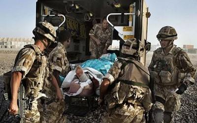 British Injured Soldiers