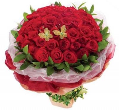 Flower Roses Bouquet